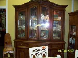BROYHILL CHINA CABINET  NEW (Hickory NC For Sale In Hickory, North Carolina