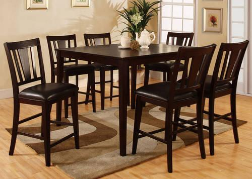 Broyhill Counter Height Light With 6 Chairs And Buffet For