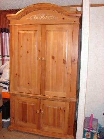 Broyhill Fontana Entertainment Armoire Inola For Sale