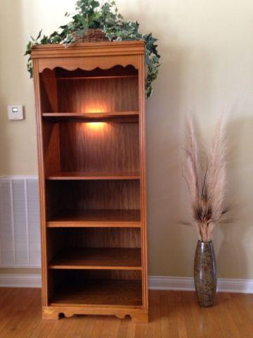 Broyhill Oak Bookcase