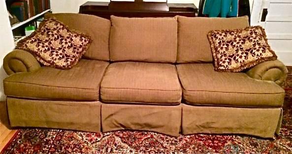 Astonishing Broyhill Sofa Chair A Half Ottoman For Sale In Boone Evergreenethics Interior Chair Design Evergreenethicsorg