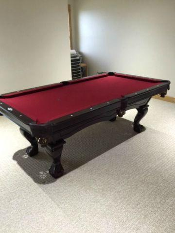 Brunswick 7 ft. Pool Table with Tennis Table Top - Like New