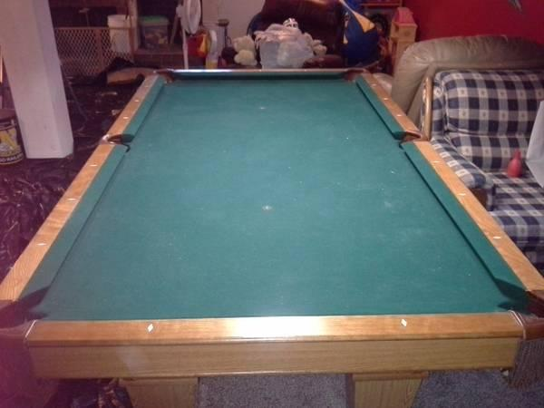 Brunswick Contender Pool Table For Sale In Newton Kansas - Brunswick 7ft pool table