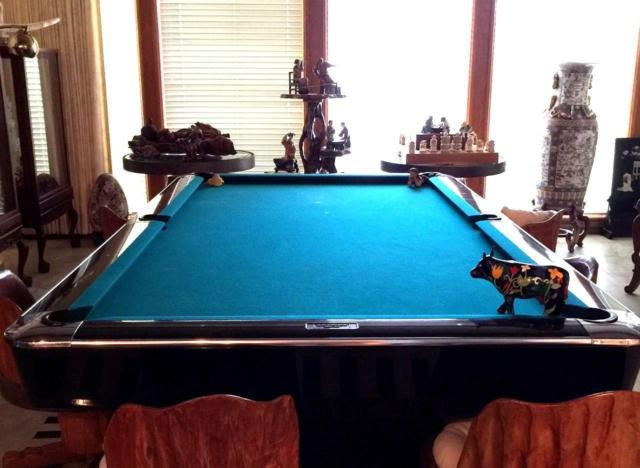 BRUNSWICK GOLD CROWN IV POOL TABLE For Sale In Palos Verdes Estates - Brunswick gold crown pool table for sale