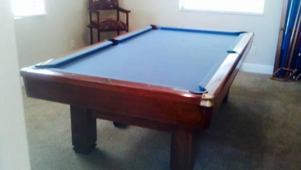 Brunswick Hawthorn 8' Billiard Table