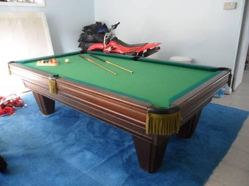 Perfect Brunswick Heritage Pool Table