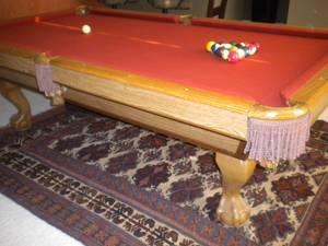 Pool Table Brunswick Claw Classifieds Buy Sell Pool Table - Claw foot pool table