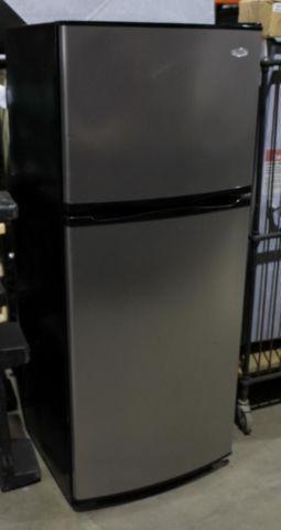 Brushed Steel Whirlpool Refrigerator Model Etomsrxtl00 For
