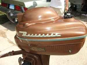 Buccaneer 3 hp outboard motor works antique for How does an outboard motor work