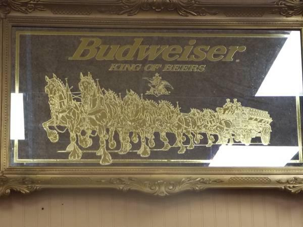 Budweiser Mirror 103035 For Sale In Wilmington North