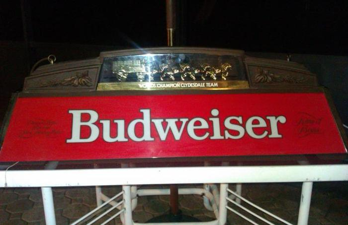 Budweiser Pool Table Light Classifieds   Buy U0026 Sell Budweiser Pool Table  Light Across The USA   AmericanListed