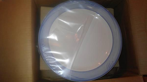 buffalo china heavy duty 12 inch dinnner plates made in USA for Sale ...