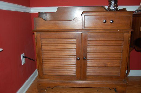Buffet Storage Cabinet   $250 (Cordova, TN)