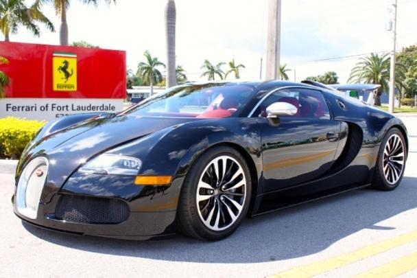 bugatti veyron for sale in fort lauderdale florida. Black Bedroom Furniture Sets. Home Design Ideas