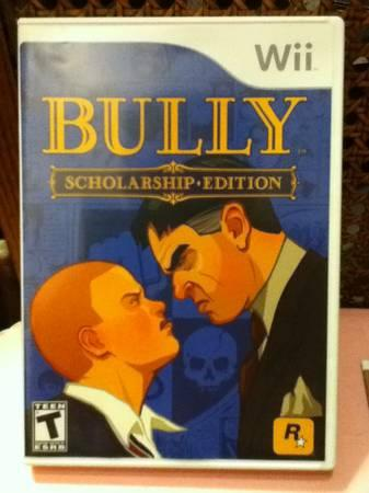 Bully Scholarship Edition Wii - $10