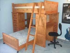 Bunk Bed/Dresser/Desk Combo - (Near BWI airport) for Sale in Baltimore ...