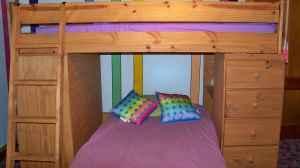 bunk bed loft set deskdressershelvesbeds 450 bunk bed dresser desk