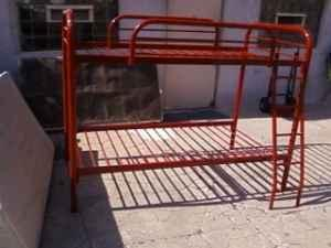 bunk bed metal color red marina for sale in monterey california classified. Black Bedroom Furniture Sets. Home Design Ideas