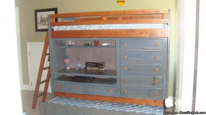 Bunk/Loft/Trundle Bed/Desk/Dresser/Drawers