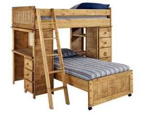 Bunk Bed/Desk Combo with matching TV Stand - $500 (Murfreesboro (cason ...