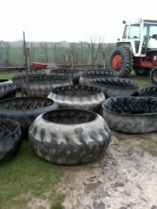 Bunker silo tires - $30 (platteville wis)