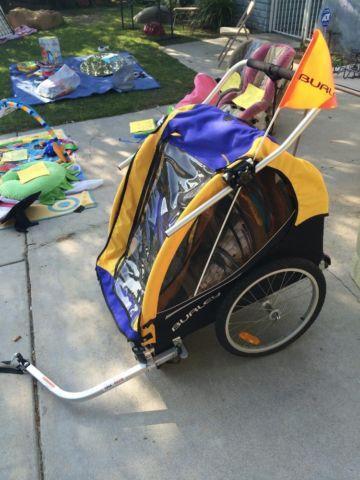 Burley Bee Bike Trailer in excellent condition