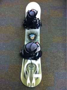 burton baron snowboard 250 youngstown ohio