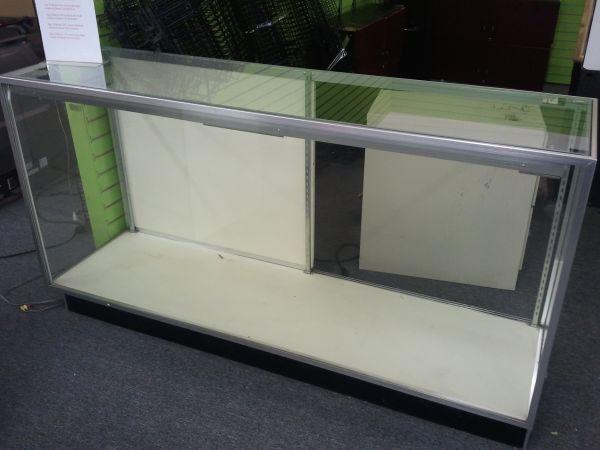Business Liquidation sales 6ft Glass Display Case
