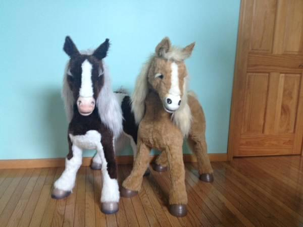 Butterscotch And Smores Fur Real Horses