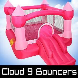 Buy or Rent A Pink Castle or Crayon bounce House For