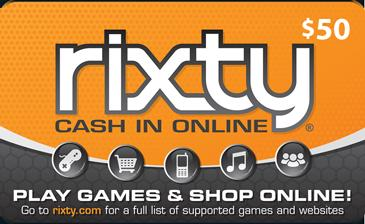 Buy Rixty Game Cards Instantly