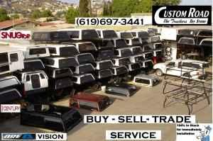 Nissan El Cajon >> Buy - Sell - Trade and Service, Camper Shell in Fiberglass