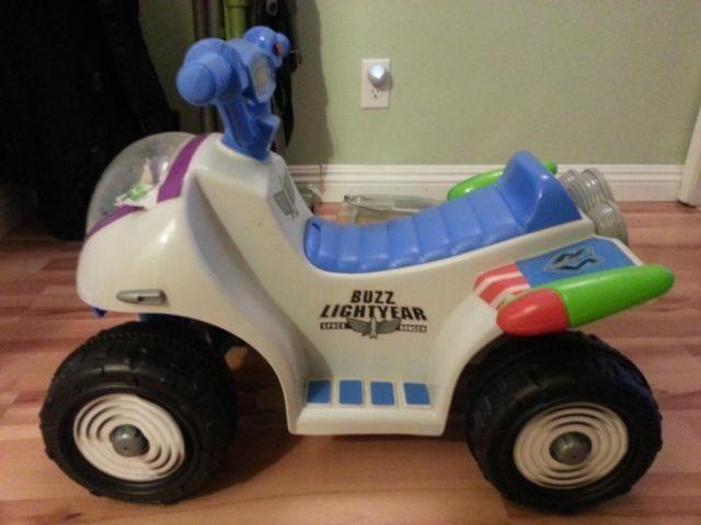 Buzz Lightyear Power Wheels Car Battery