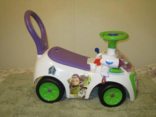 Buzz Lightyear Ride On Walkr Push Car For Sale In