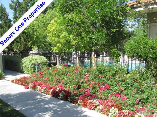 Calabasas private gated community upstairs condo for Homes for sale in calabasas gated community