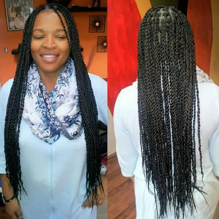 Call For Box Braids Kinky Twist Senegalese Twist In