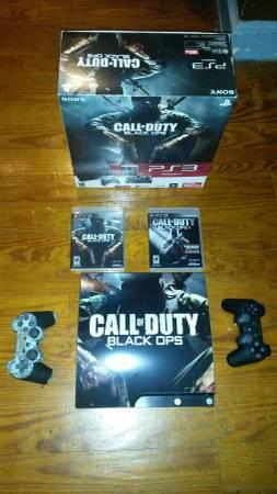 CALL OF DUTY BLACK OPS 500GB PS3 SUPER CONSOLE BUNDLE