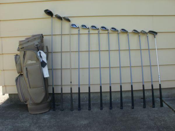 Callaway golf clubs, ladies right hand, complete set  bag - $250 north tonawanda, ny, 14120