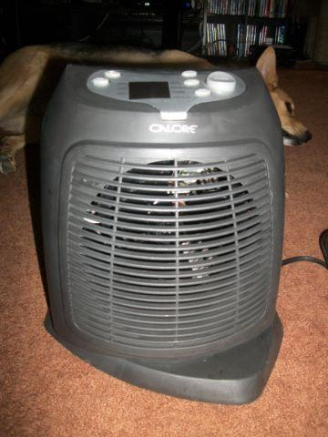 Calore Digital Fan Forced Electric Portable Heater For