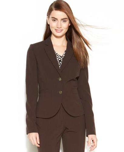 Calvin Klein Metal-Button Blazer