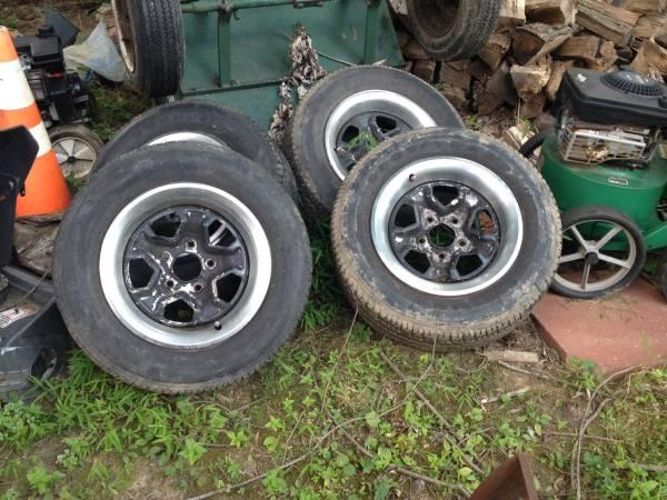 Camaro wheels 15inch - $150