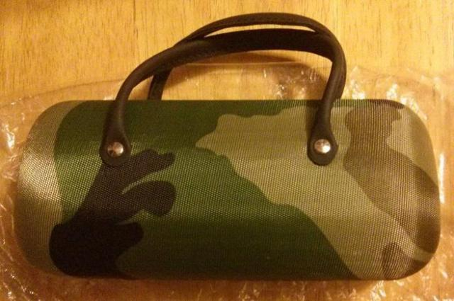 Camo Eyeglass case. new