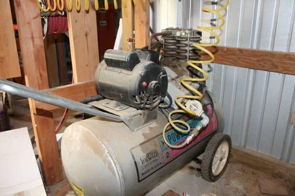 Campbell Hausfeld 20 gal Air Compressor - $188