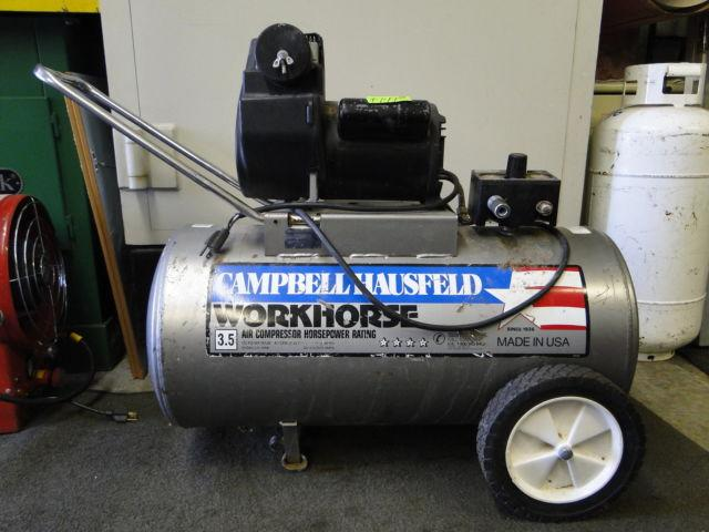 Campbell Hausfeld Workhorse 3.5HP 20 Gallon Air Compressor