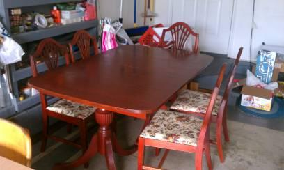 Merveilleux Campbellsville Cherry Dining Room Set