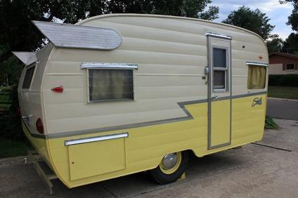 Camper***1961 Shasta Airflyte***travel trailer