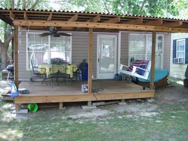 Camper At Camp Clearwater With Golf Cart Reduced For