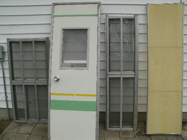 Camper door and windows build your own rv for sale in for Build your own window