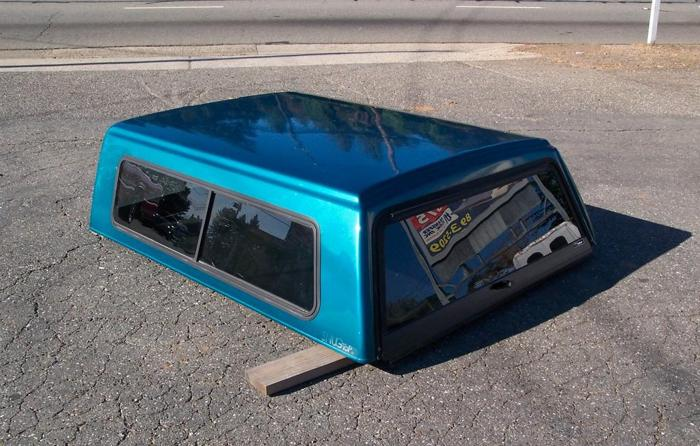 Camper Shell 4 Chevy Gmc Shortbed 88 98 Paradise For