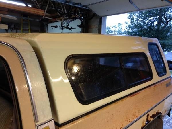 Camper Shell Off 73 87 Chevrolet Longbed Truck For Sale